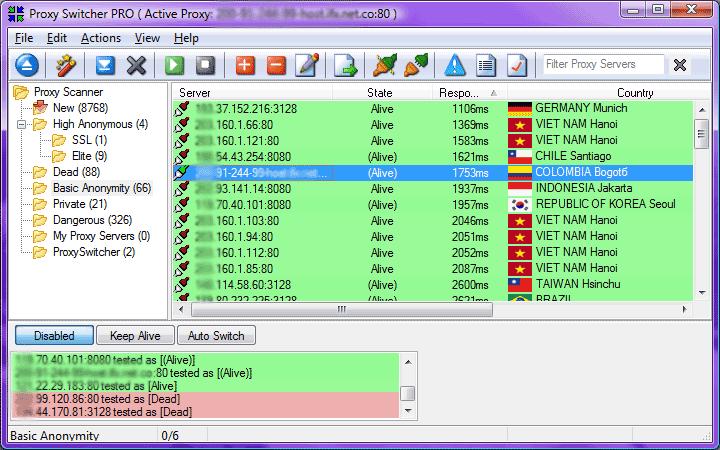 Anonymous Browsing Use Case - beating Forum IP address ban
