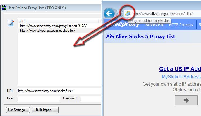 Public socks5 proxy list